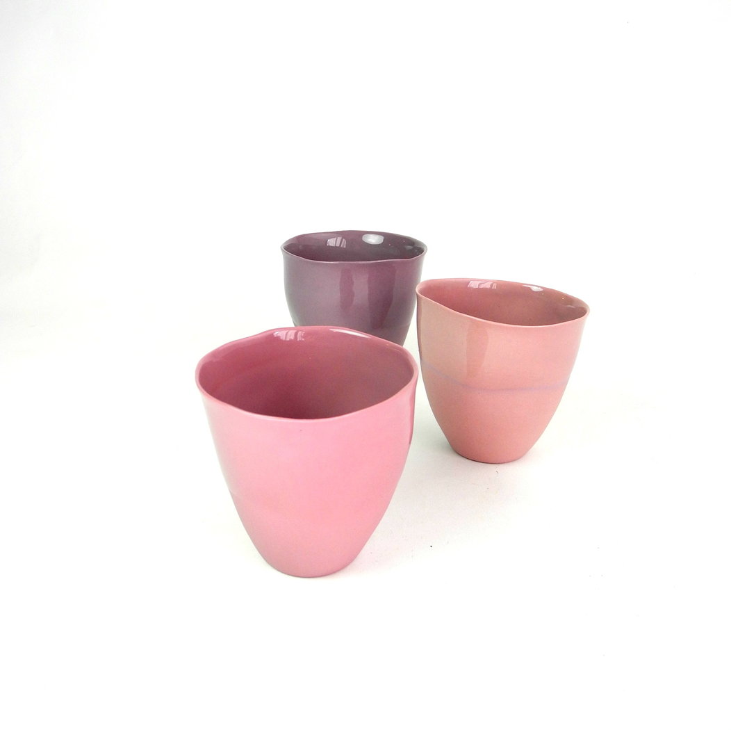 Solid Color cafe cups Nr.1 in shades of purple